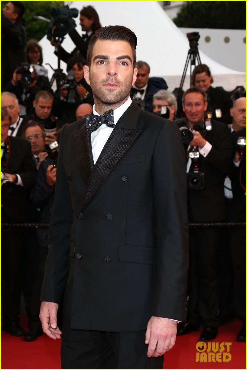 jessica chastain zachary quinto all is lost cannes premiere 152876265