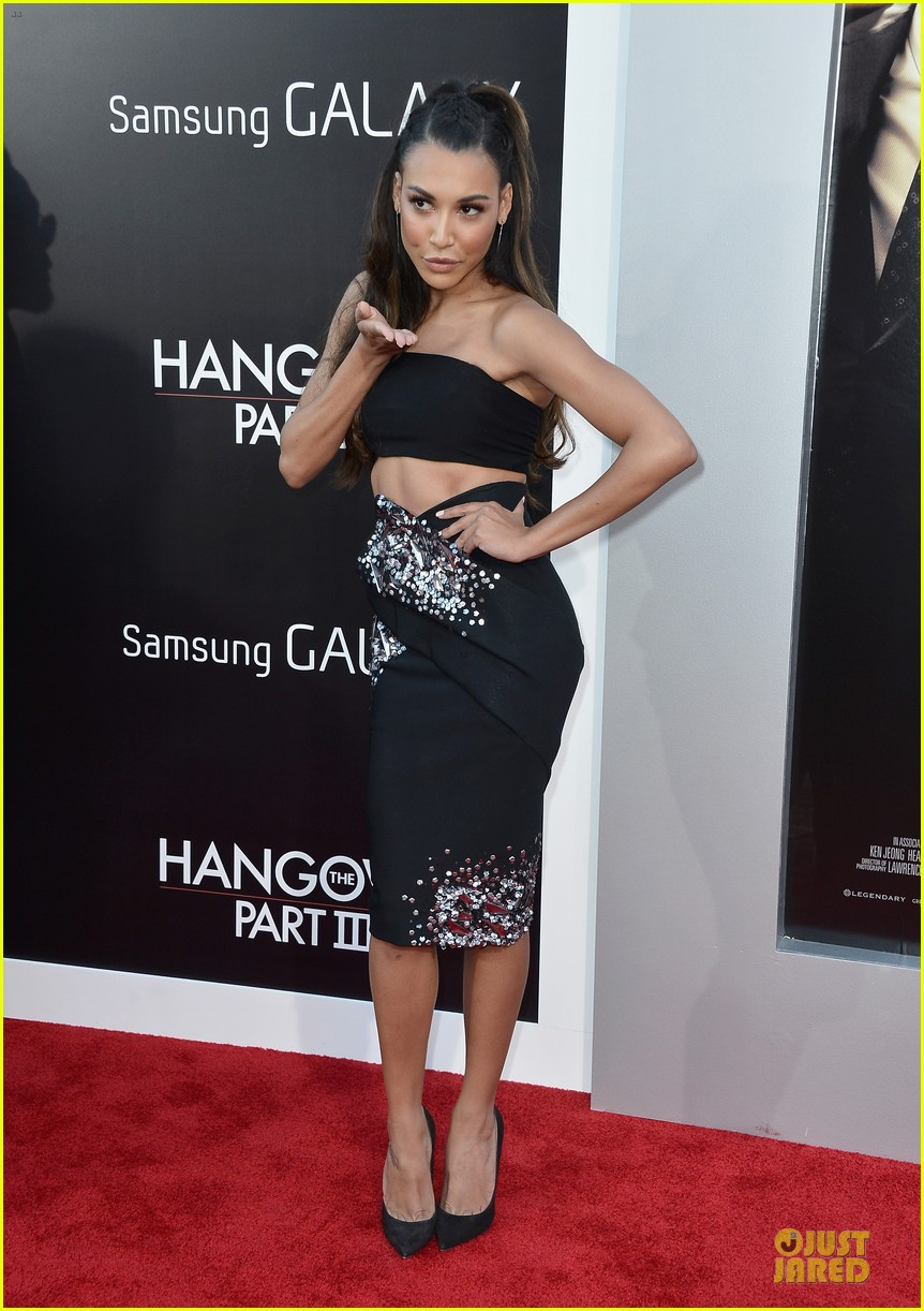 jamie chung naya rivera the hangover part iii premiere 032875273
