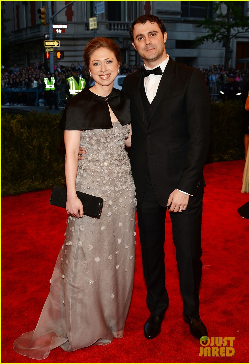 chelsea clinton marc mezvinsky met ball 2013 red carpet 052865780