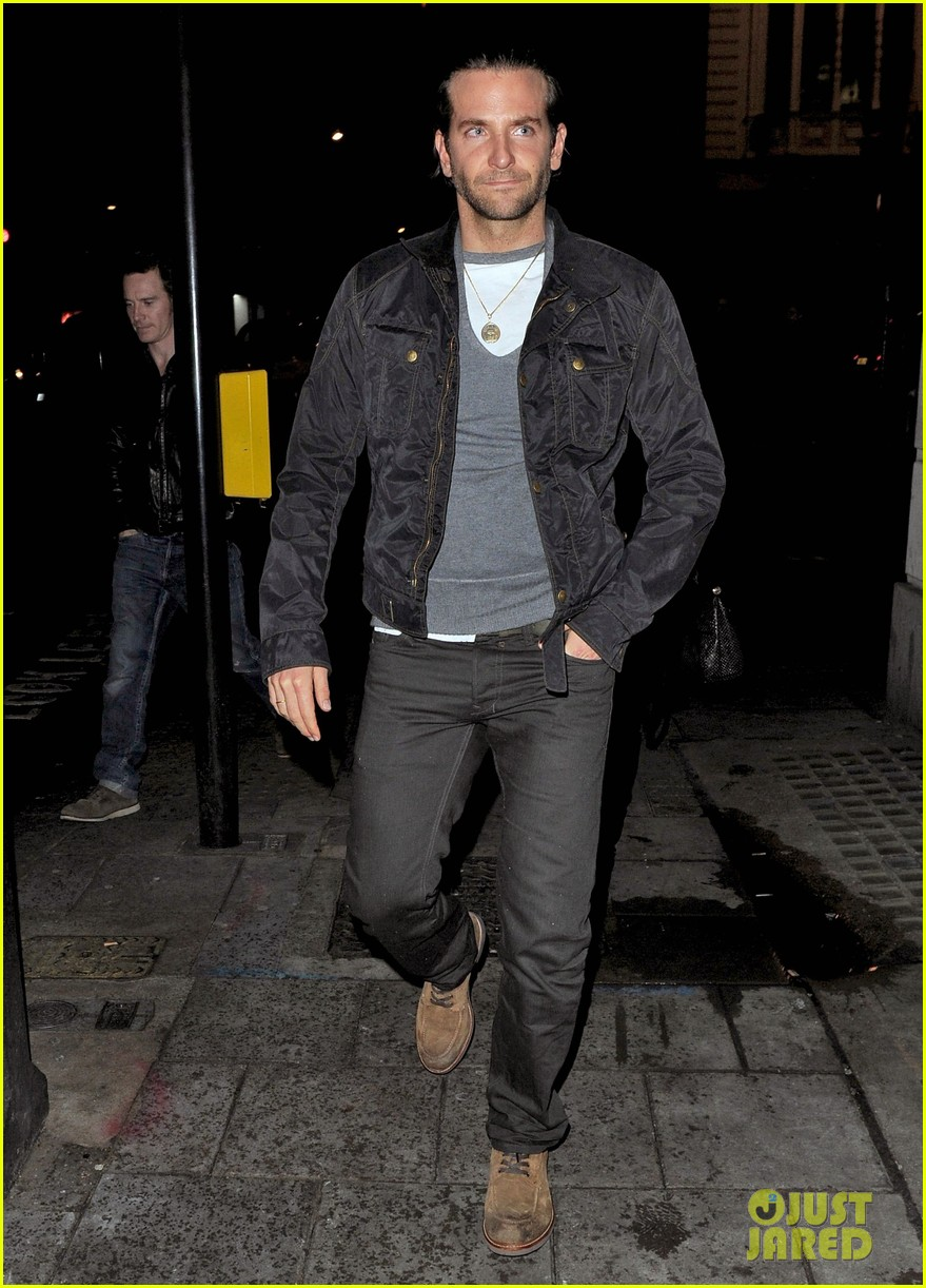bradley cooper michael fassbender dinner in london 062877713