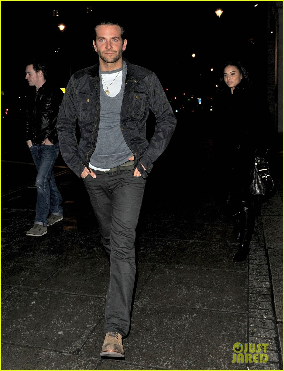 bradley cooper michael fassbender dinner in london 09
