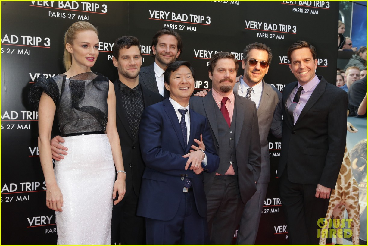 bradley cooper hangover part iii paris premiere with cast 062879182