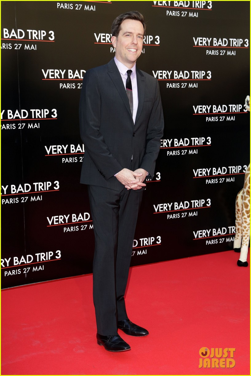 bradley cooper hangover part iii paris premiere with cast 152879191