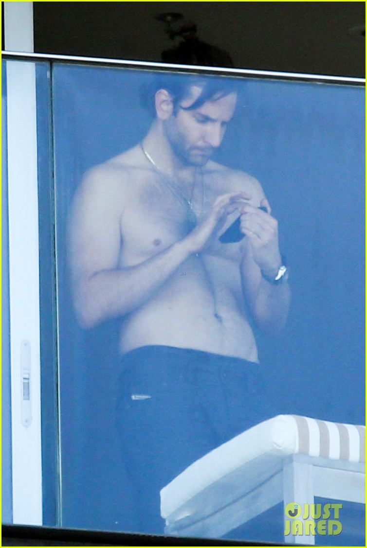 bradley cooper shirtless after brazil arrival with hangover guys 052879425