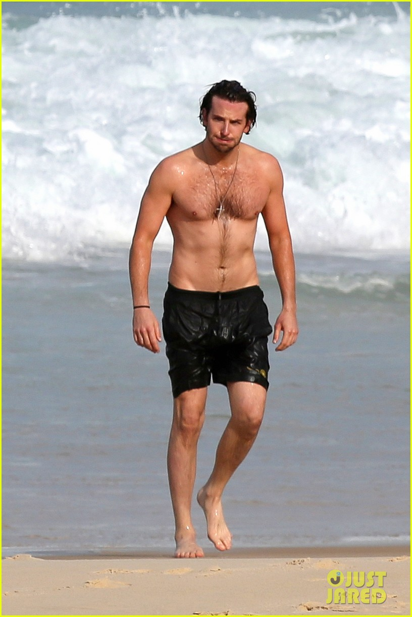 bradley cooper premieres hangover in rio swims shirtless 012880050