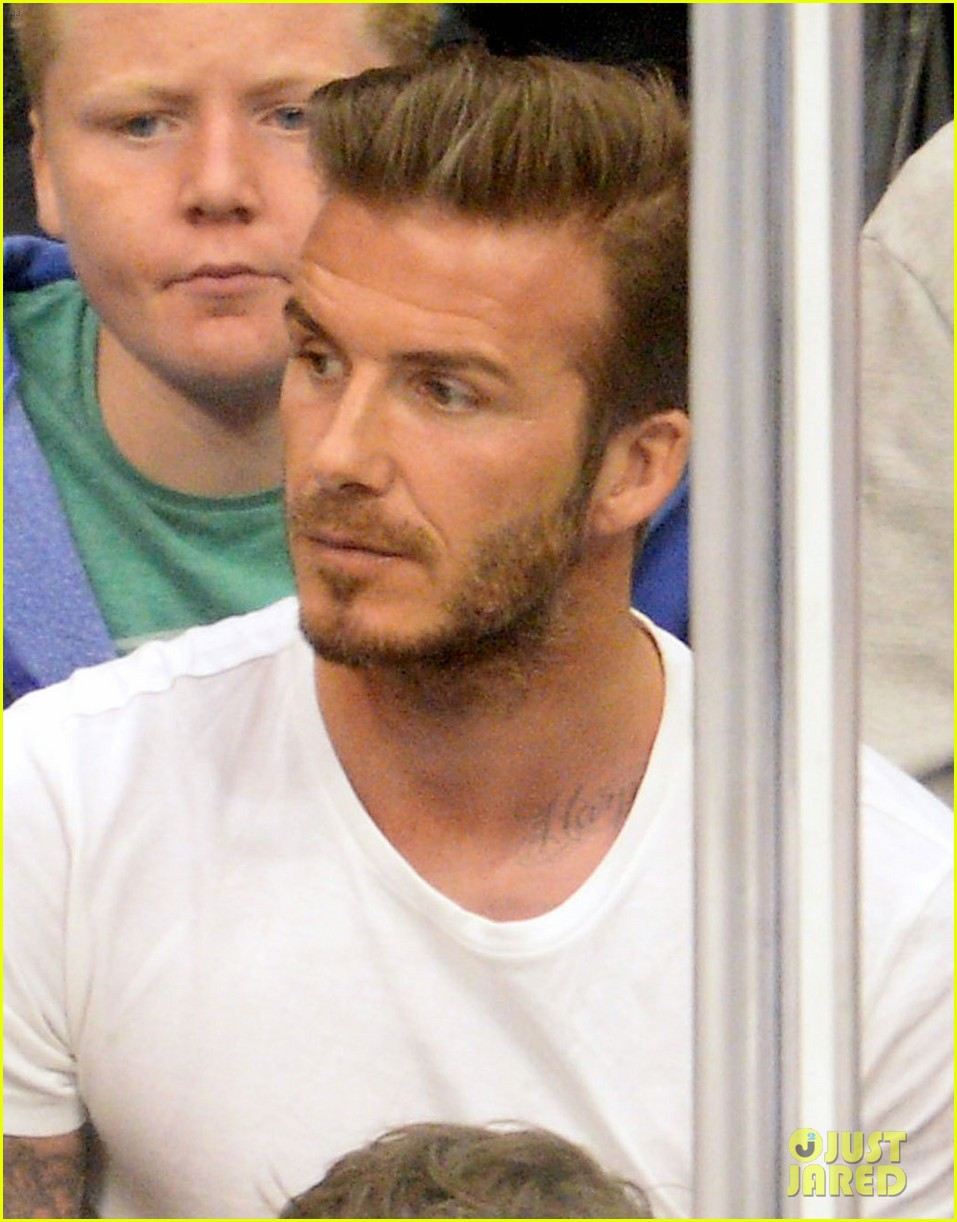 tom cruise david beckham kings game with families 022880228