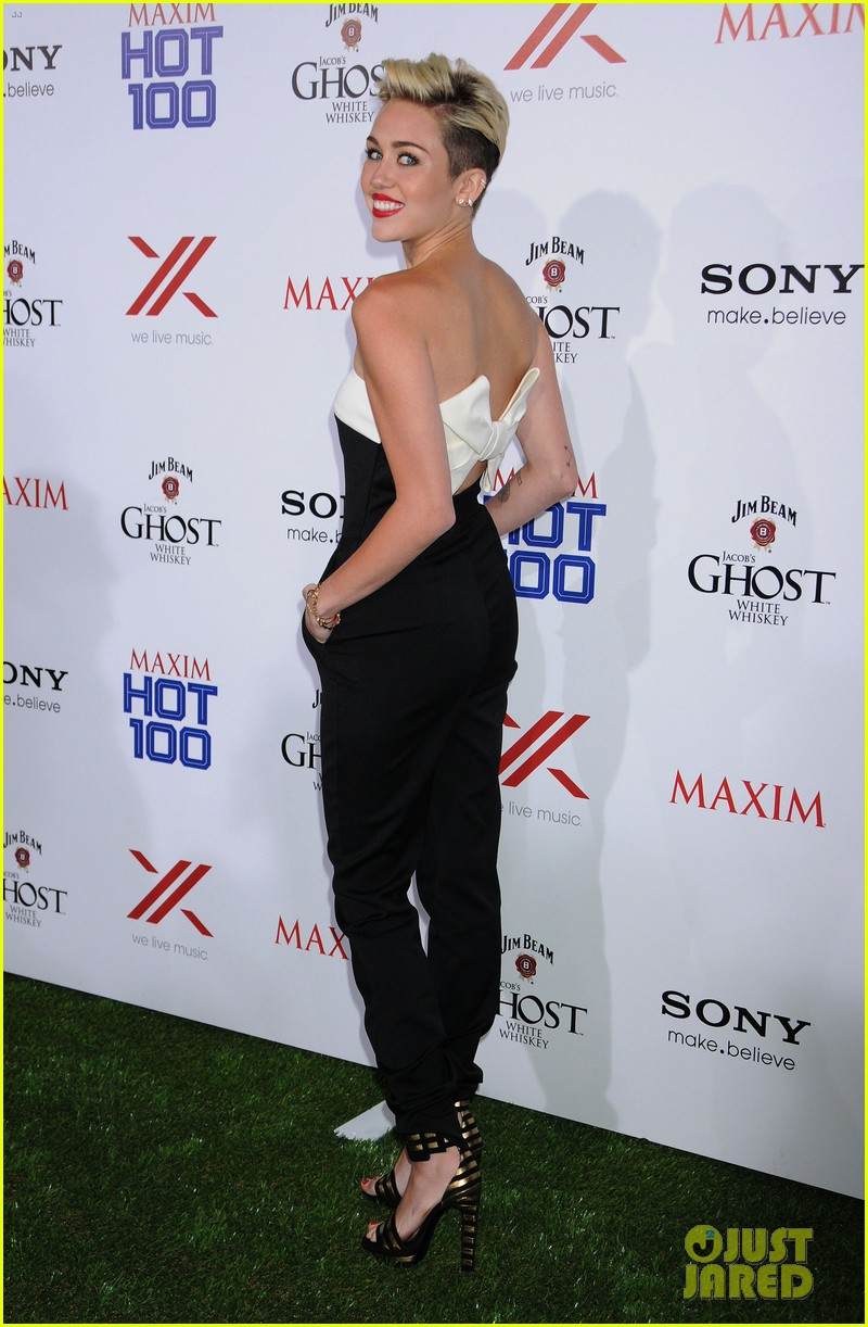 miley cyrus maxim hot 100 party 05