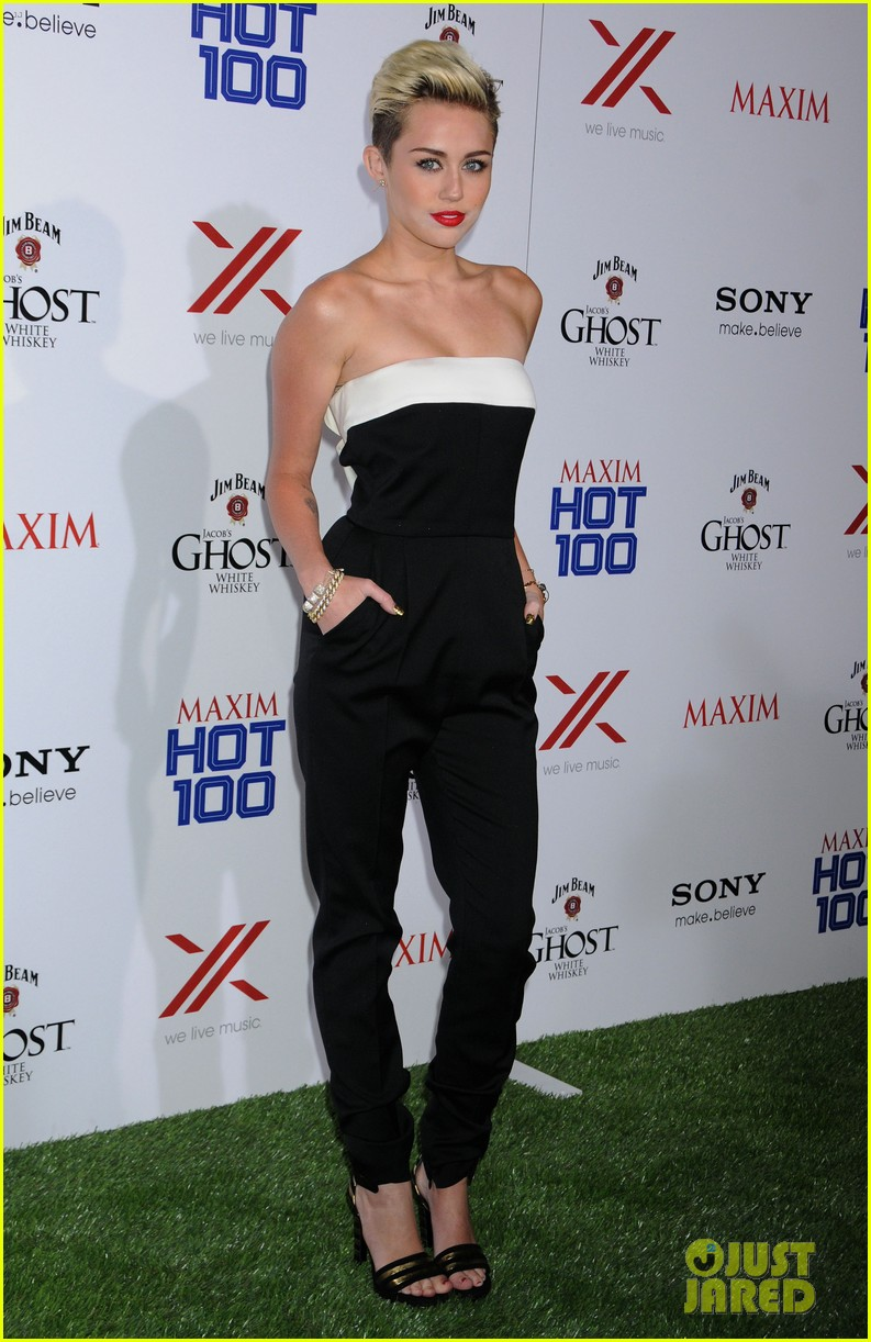miley cyrus maxim hot 100 party 112871455