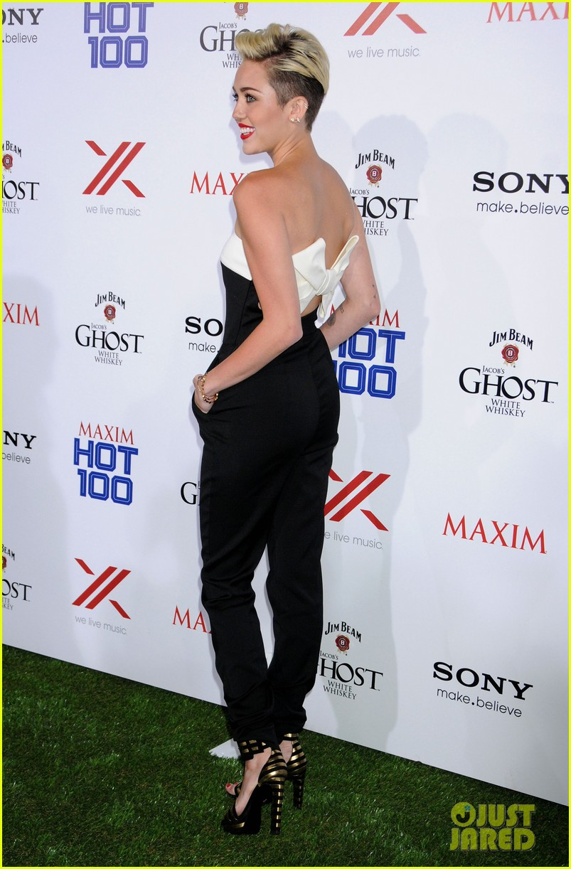 miley cyrus maxim hot 100 party 15