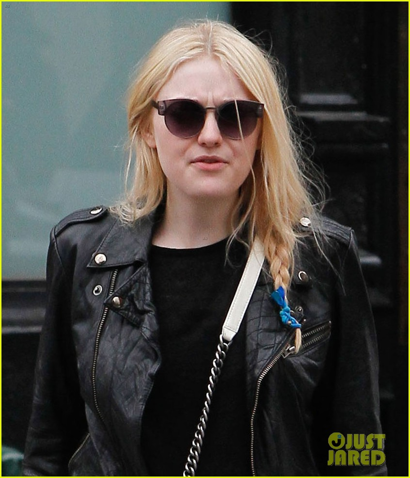 dakota fanning post met ball stroll in nyc 022869052