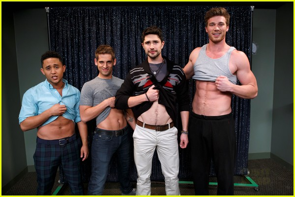 matt dallas derek theler replicate kyle xy ab flash pose 032876483