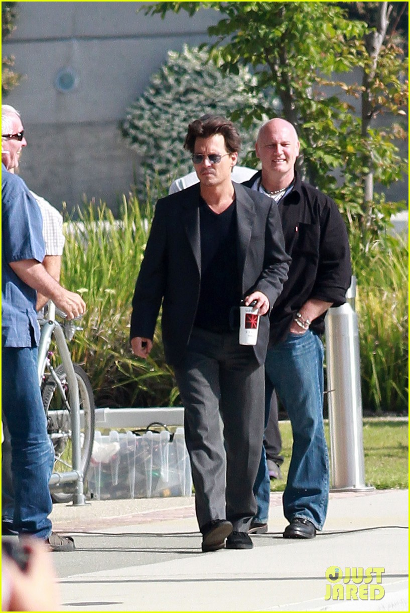 johnny depp transcendence coffee break 122868660