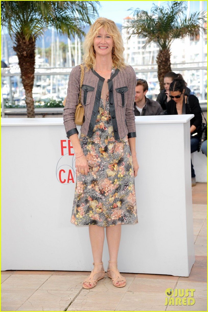 laura dern will forte cannes nebraska photo call 03