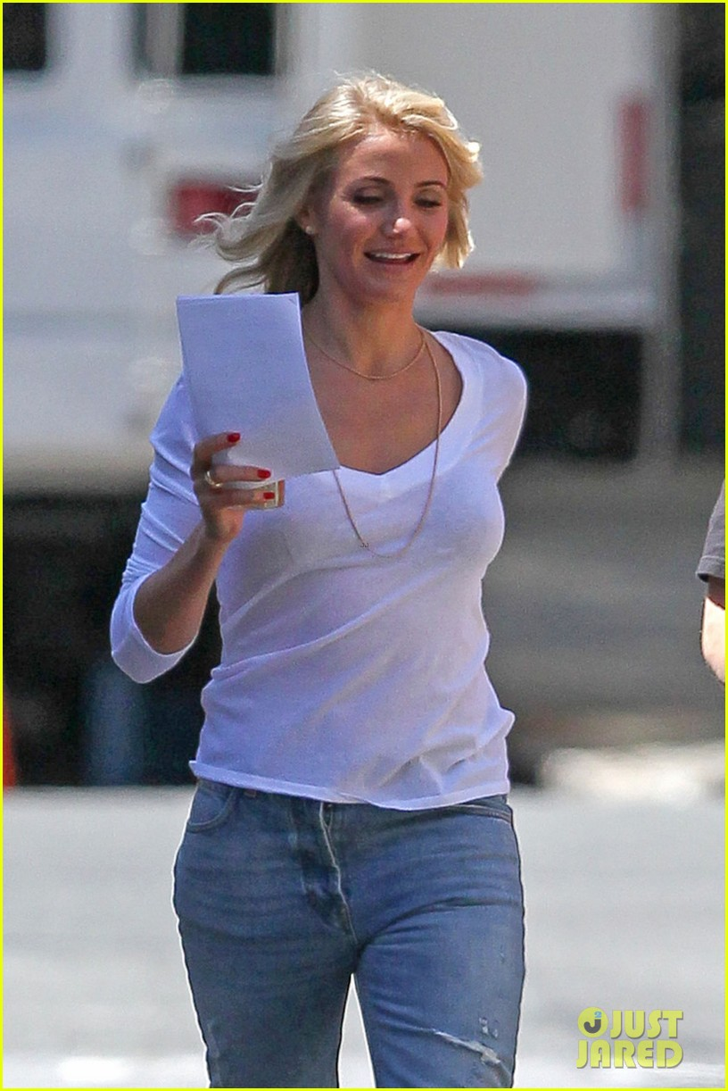 cameron diaz the other woman set with leslie mann 022864043