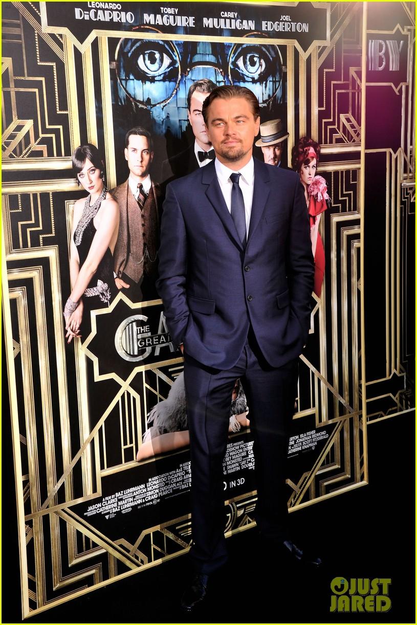 leonardo dicaprio great gatsby new york premiere 052862002