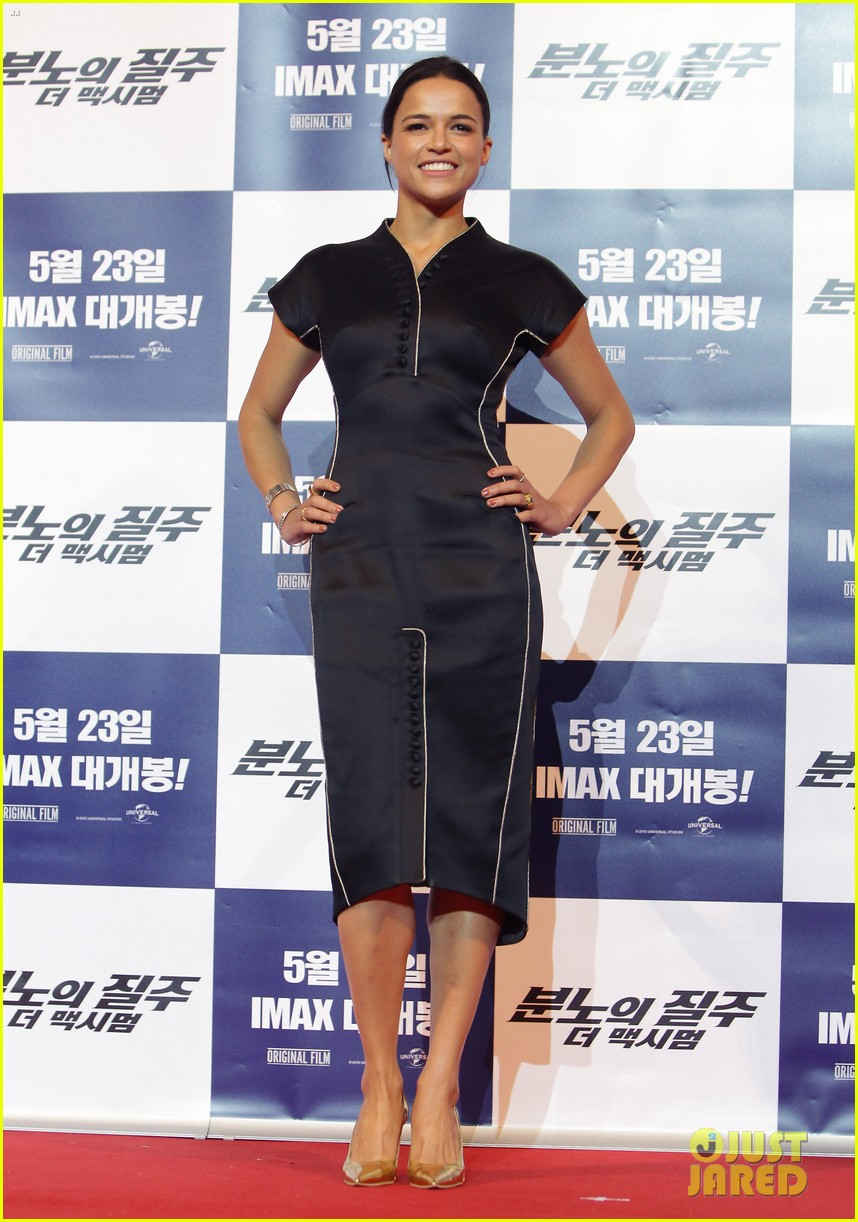 vin diesel michelle rodriguez fast furious 6 seoul press conference 022869432