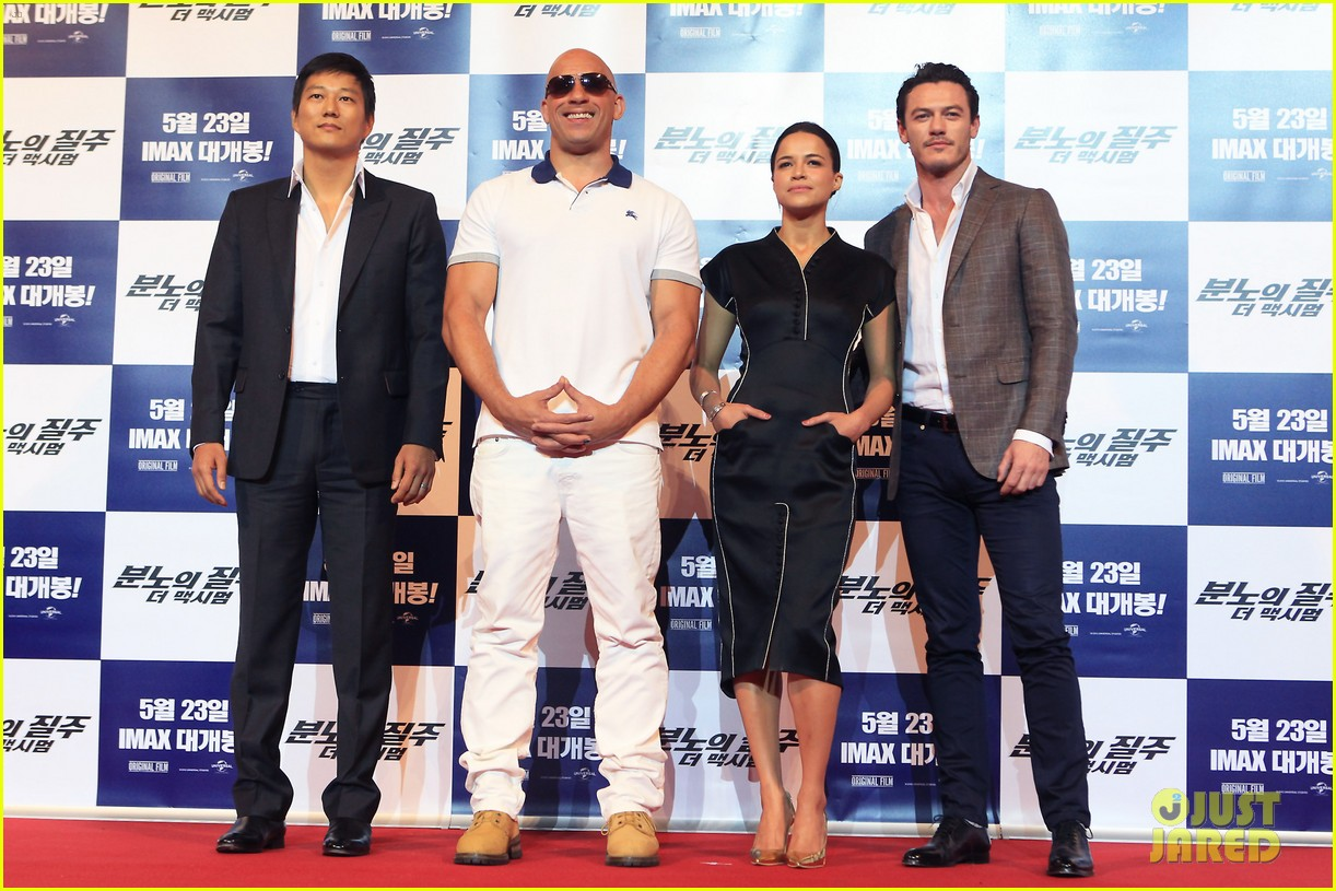 vin diesel michelle rodriguez fast furious 6 seoul press conference 042869434