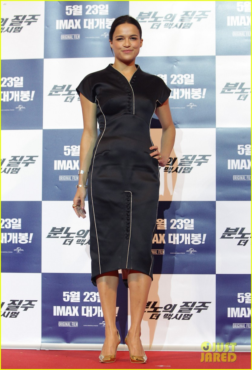 vin diesel michelle rodriguez fast furious 6 seoul press conference 07