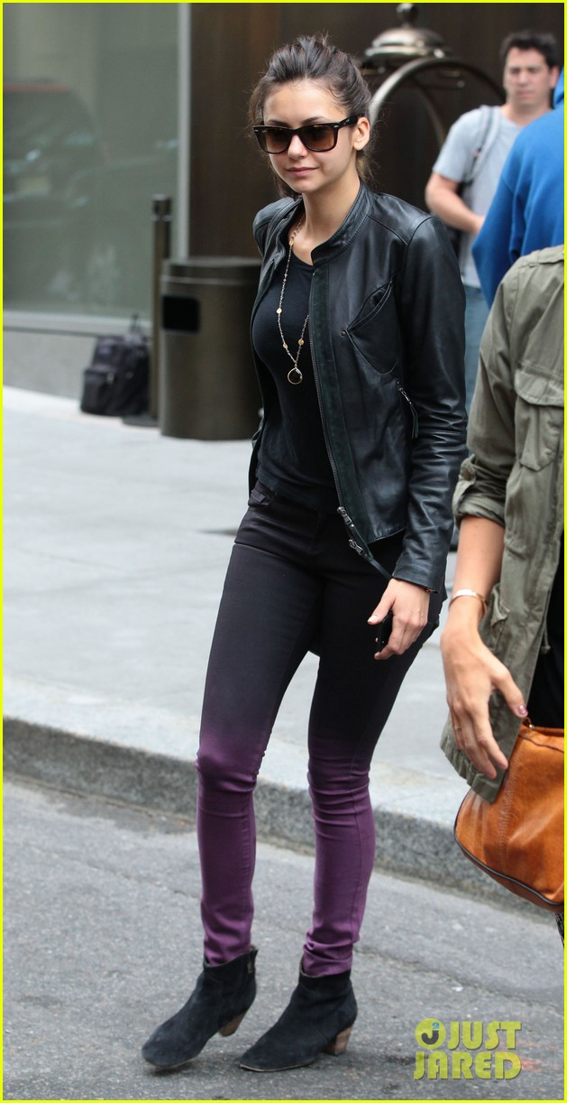 nina dobrev big apple lunch after met ball 11