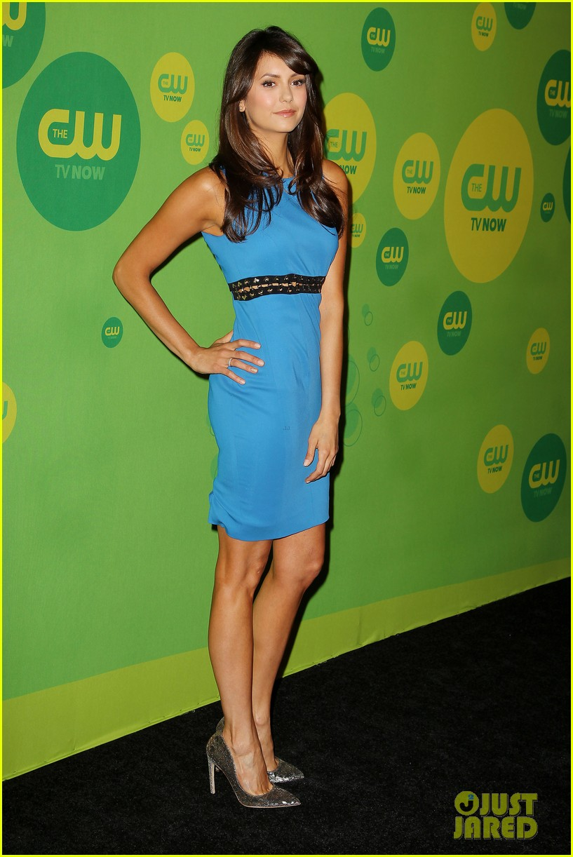 nina dobrev ian somerhalder cw upfronts after breakup 062871700