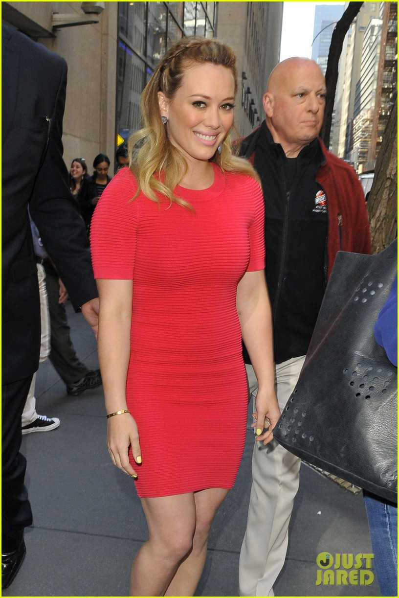 hilary duff today show appearance 02