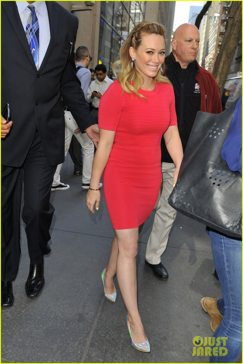 hilary duff today show appearance 05