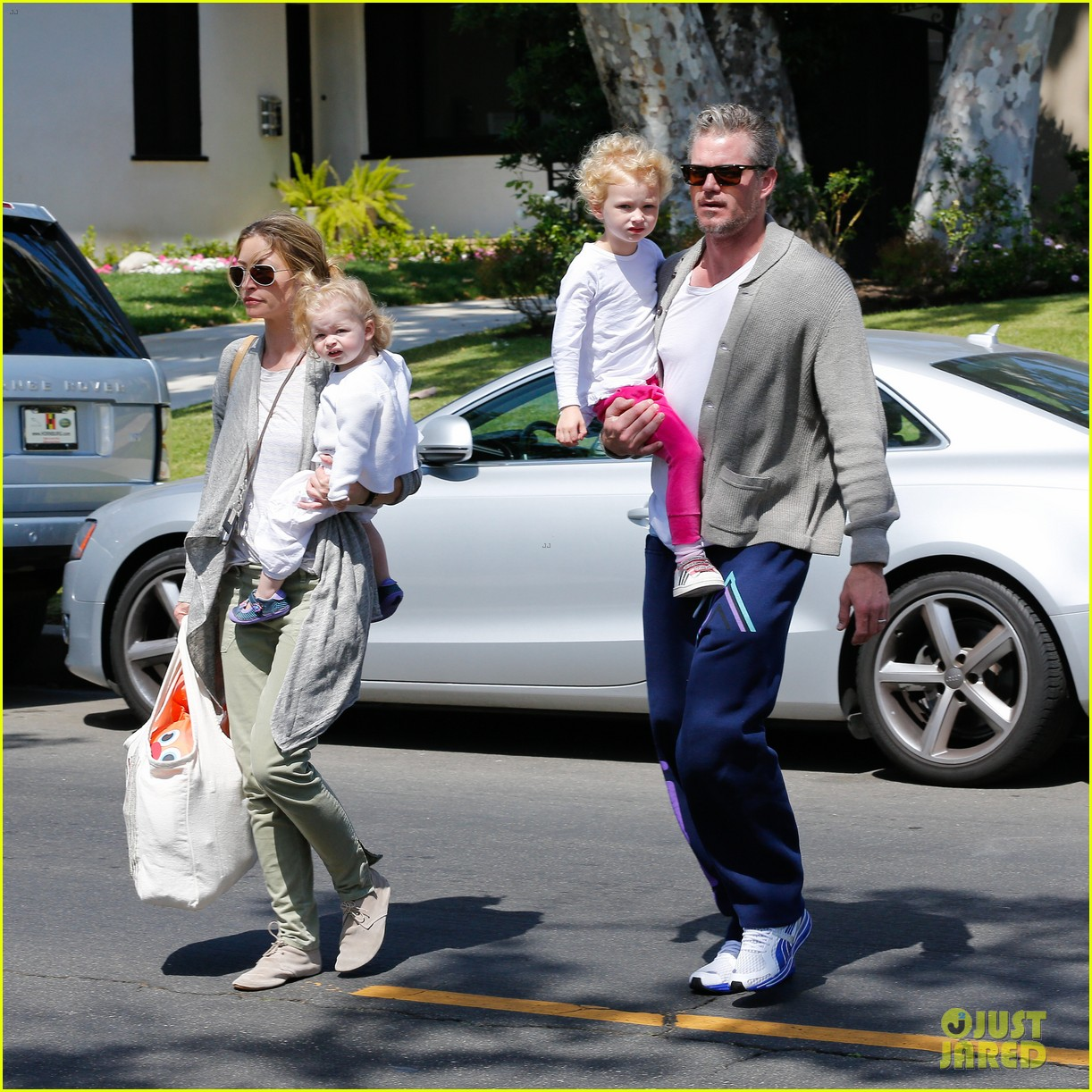 eric dane rebecca gayheart birthday party with the girls 032879032