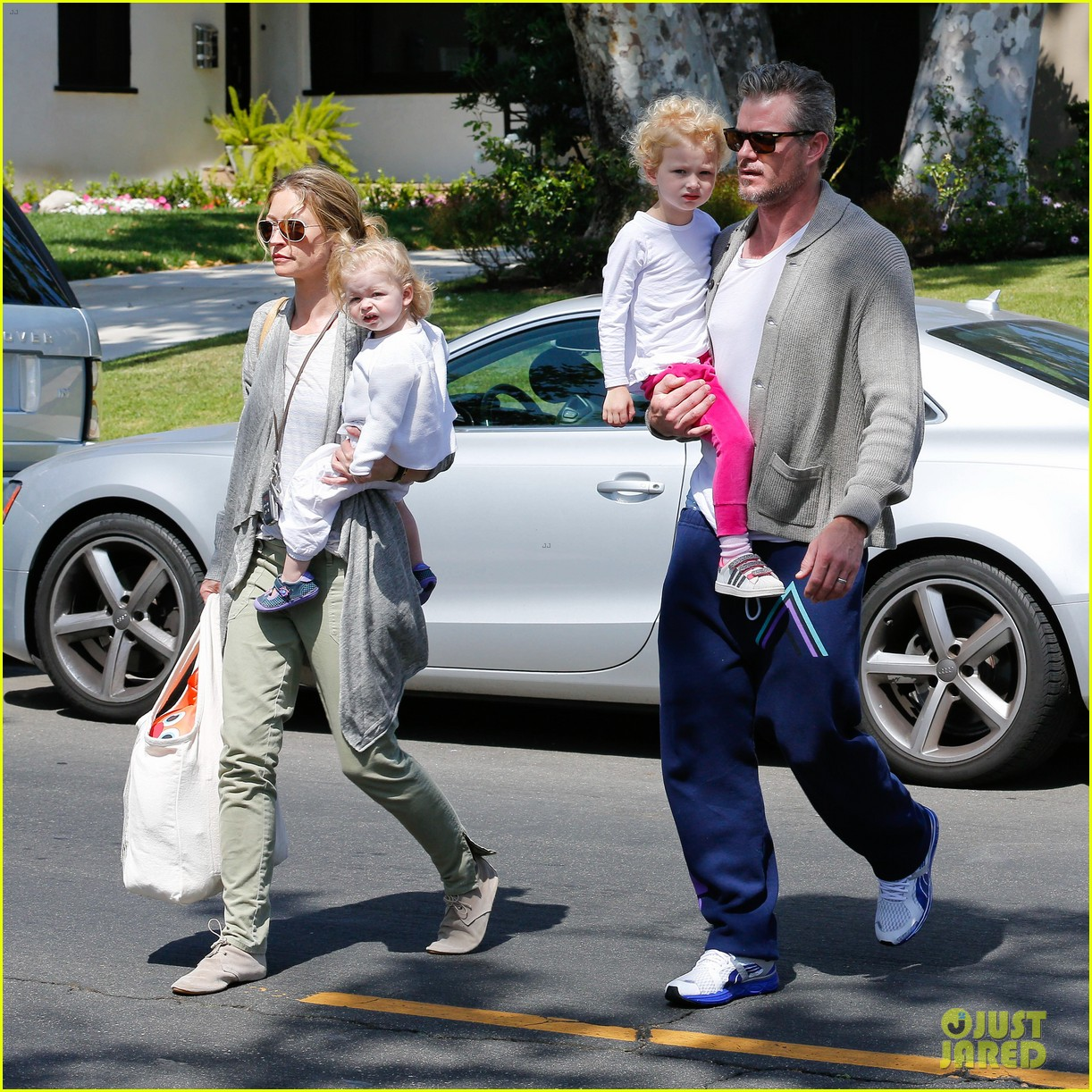 eric dane rebecca gayheart birthday party with the girls 152879044