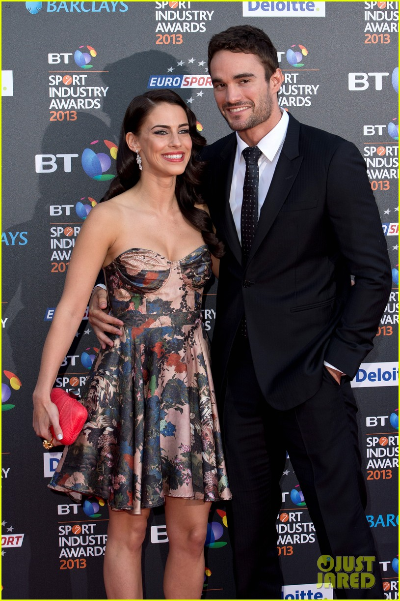 thom evans jessica lowndes bt sports industry awards 022862795