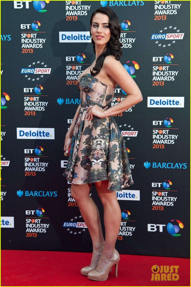 thom evans jessica lowndes bt sports industry awards 032862796