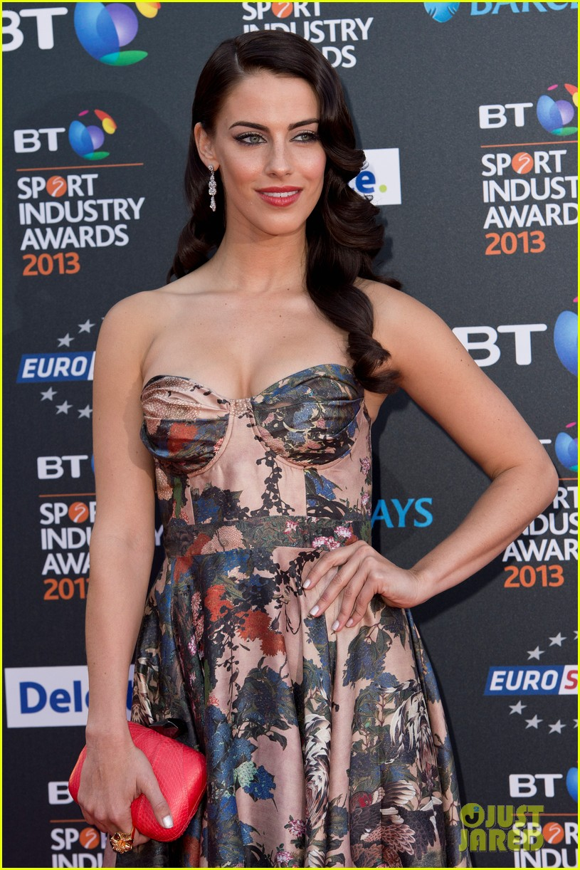 thom evans jessica lowndes bt sports industry awards 082862801