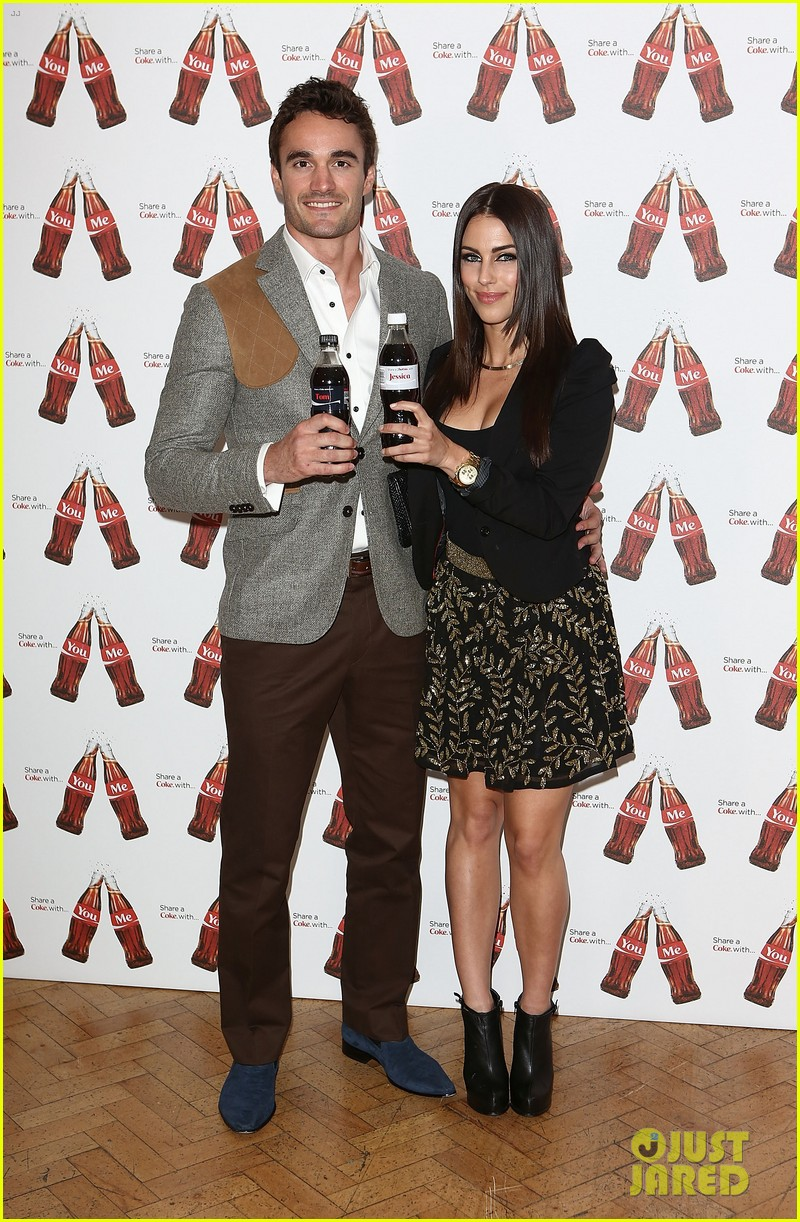 thom evans jessica lowndes personalized coke bottles 04