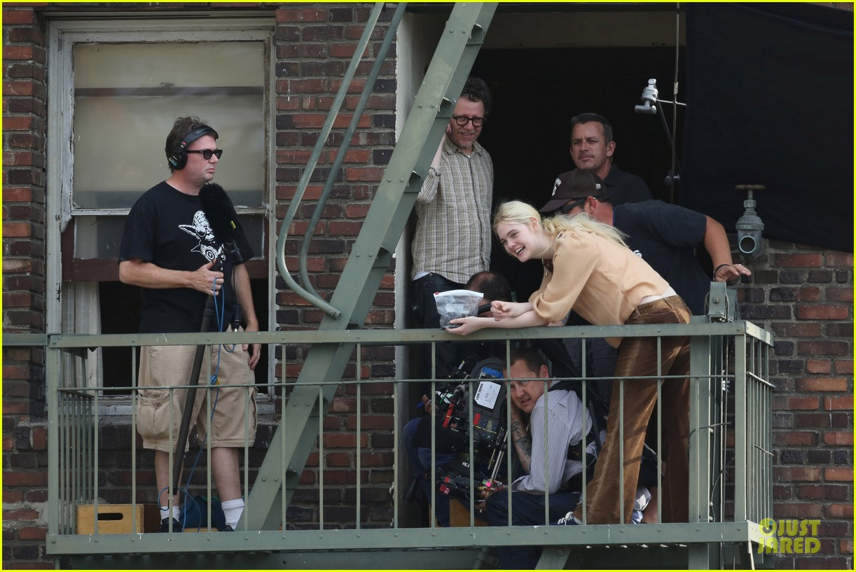 elle fanning low down set with peter dinklage 172868317