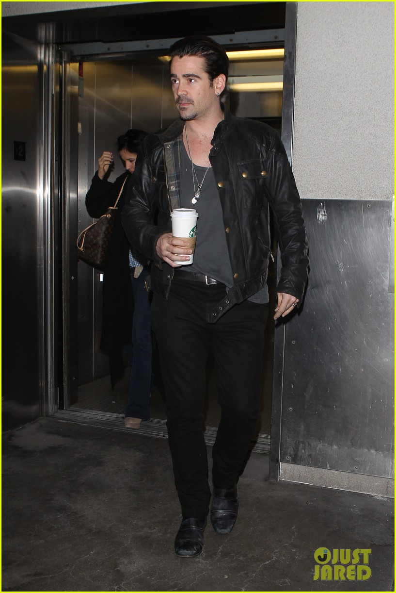 colin farrell late night with jimmy fallon debut 012875318