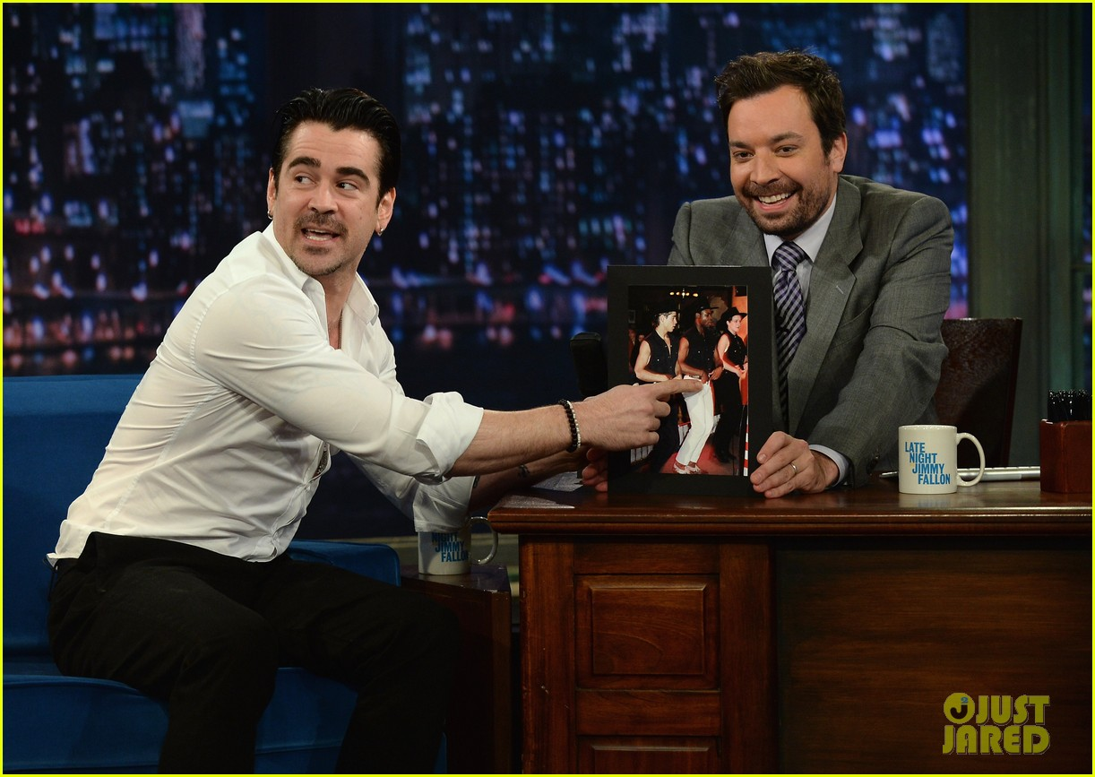 colin farrell late night with jimmy fallon debut 062875323