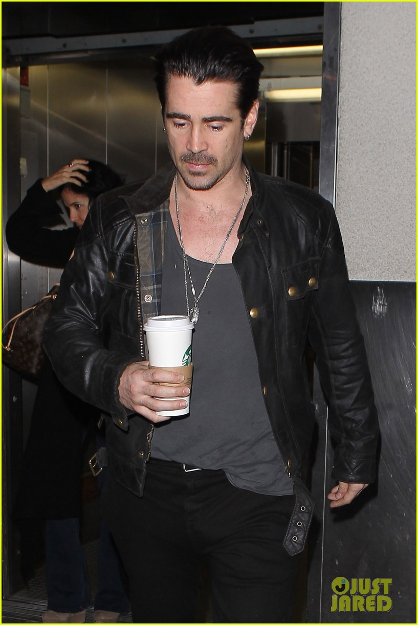 colin farrell late night with jimmy fallon debut 122875329
