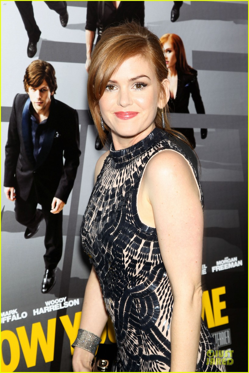 isla fisher jesse eisenberg now you see me premiere 122875921