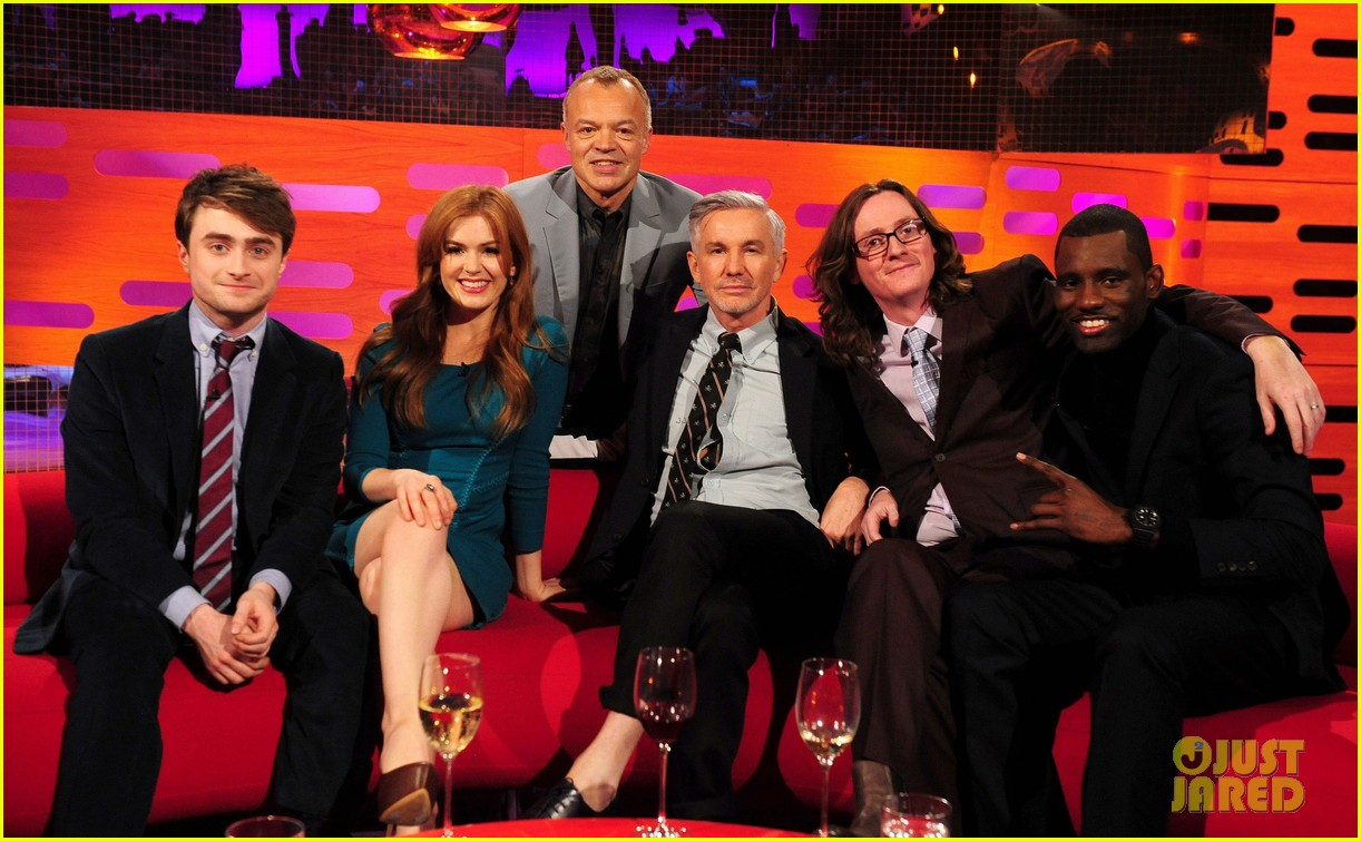 daniel radcliffe isla fisher graham norton show guests 012873185