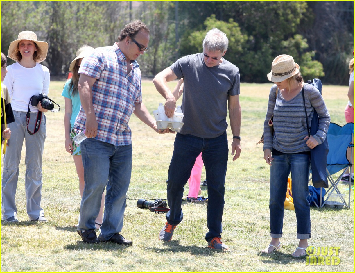 harrison ford calista flockhart liam soccer game 212868800