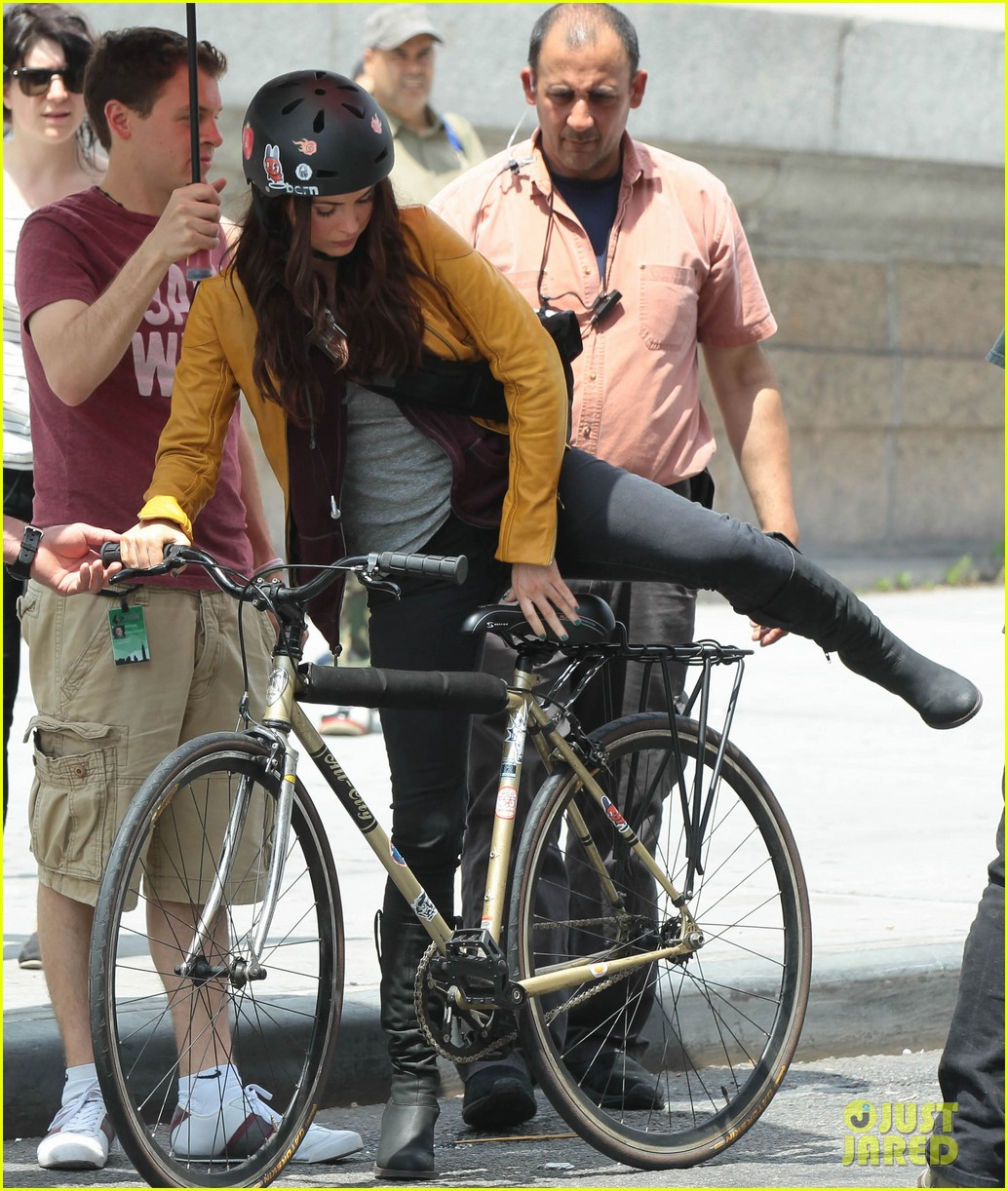 megan fox biking babe for teenage mutant ninja turtles 142868067
