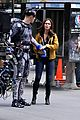megan fox alan ritchson hold hands on ninja turtles set 22