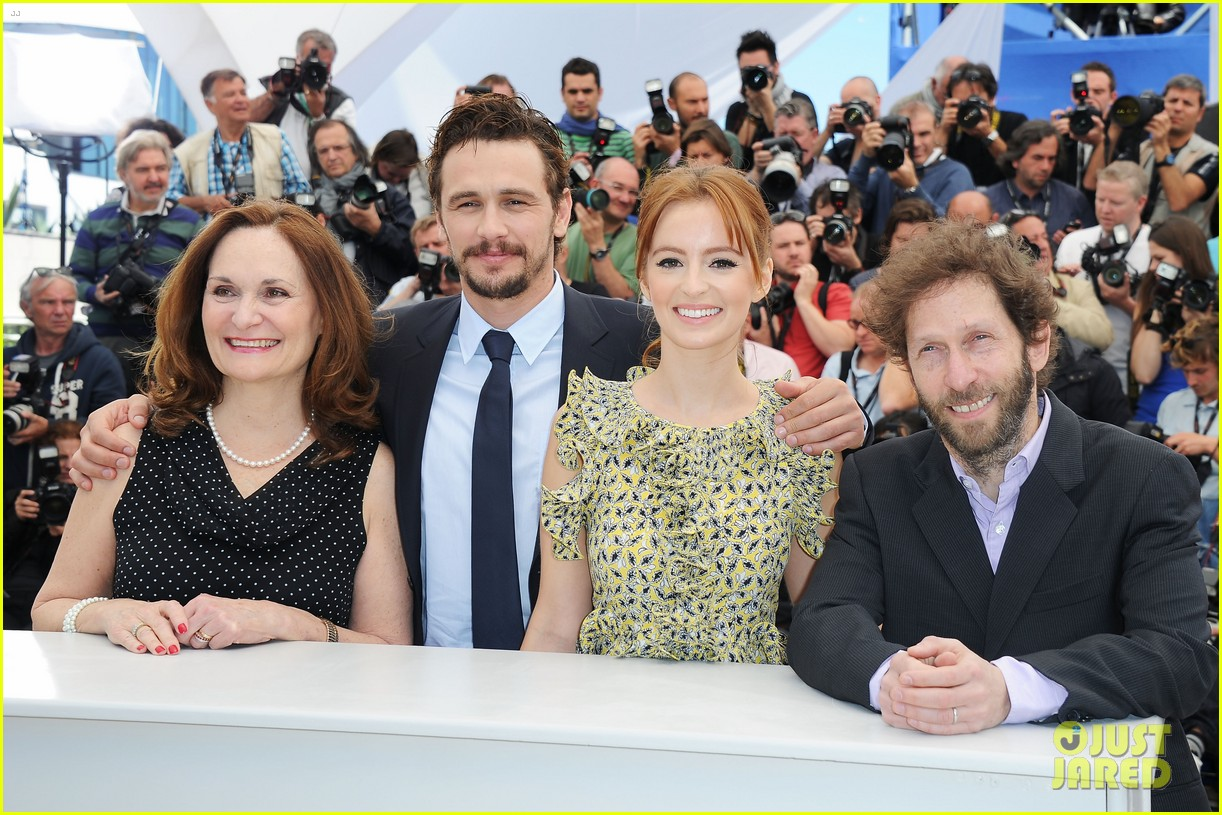james franco ahna oreilly as i lay dying cannes photo call 112874668
