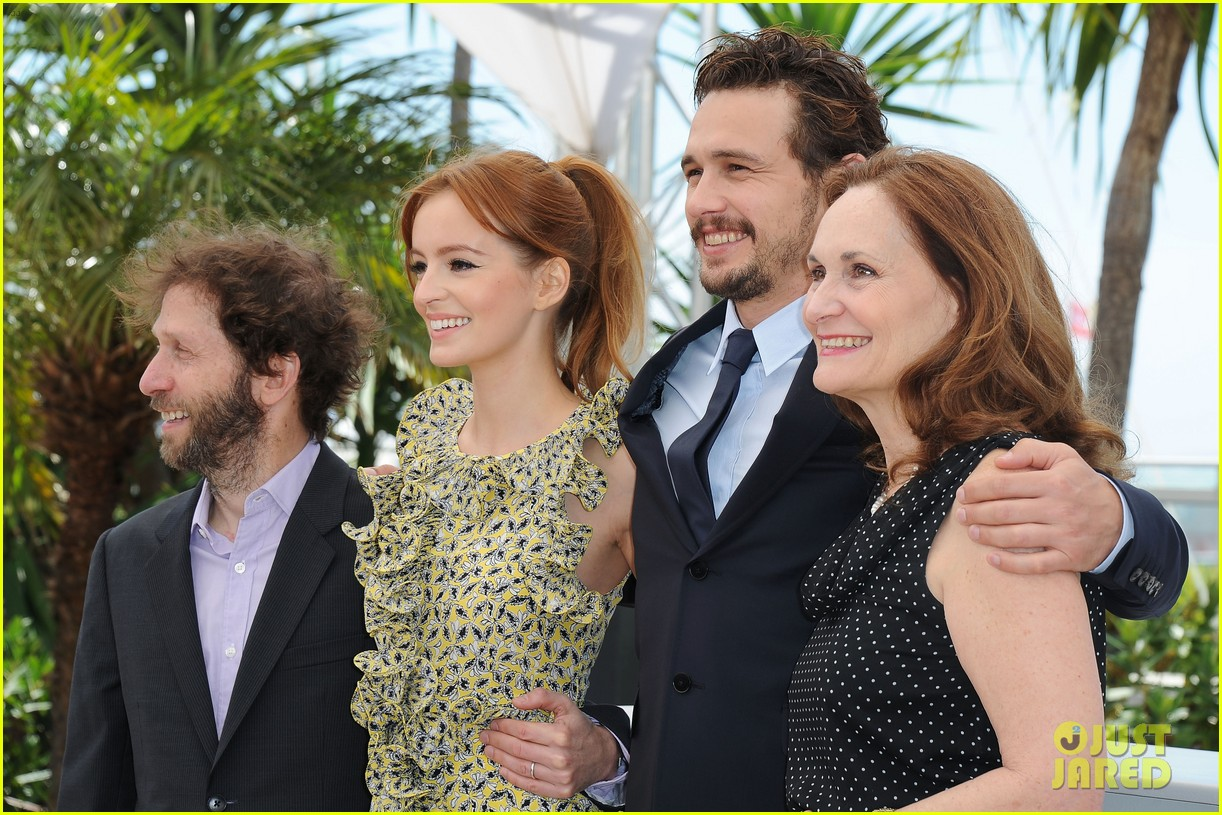 james franco ahna oreilly as i lay dying cannes photo call 122874669