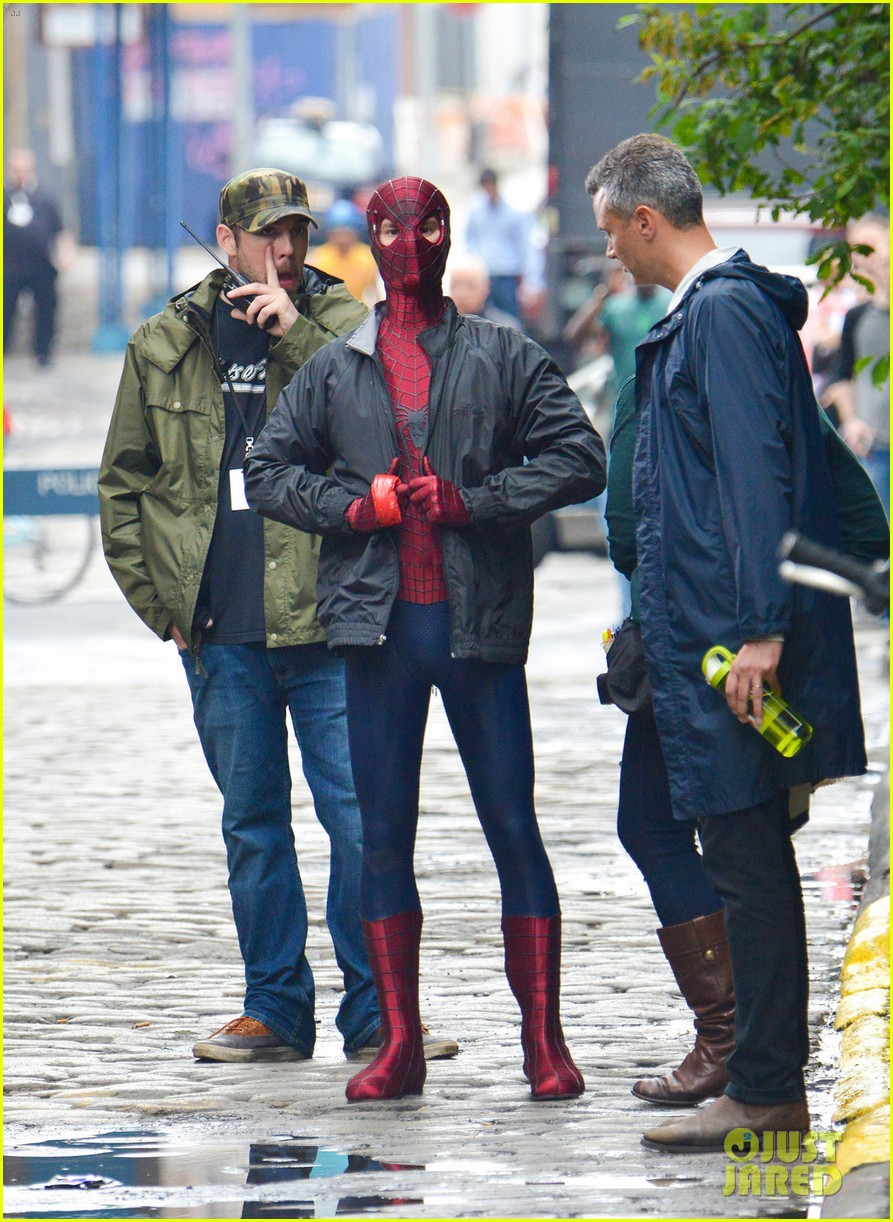 andrew garfield paul giamatti spider man rhino photos 052868635