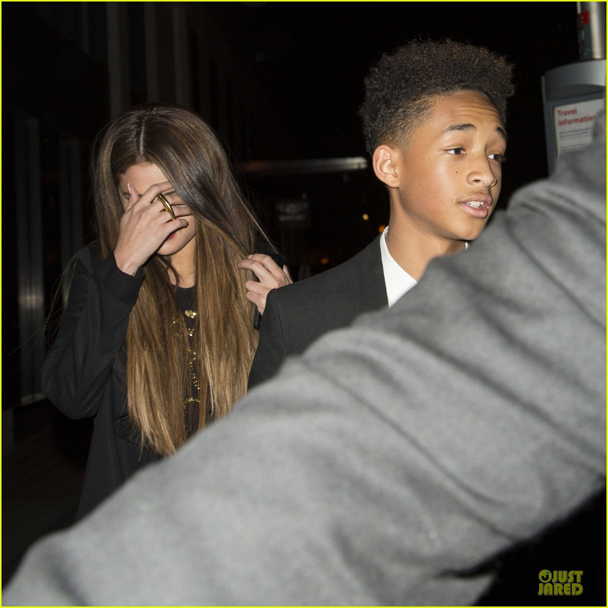 selena gomez jaden smith hakkasan dinner with will smith 022877038