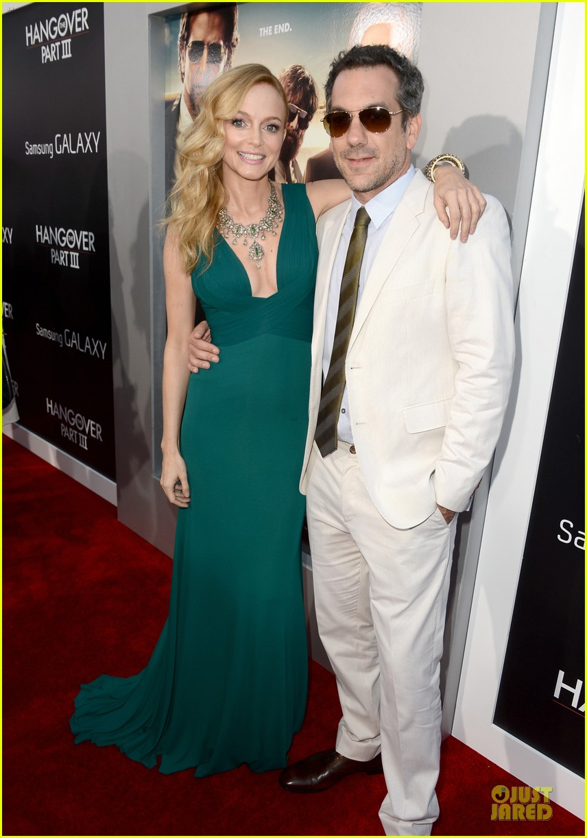 heather graham zach galifianakis the hangover part 3 premiere 012875236