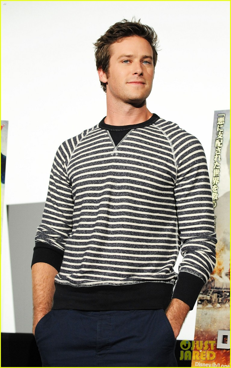 armie hammer lone ranger japan press conference 022869442