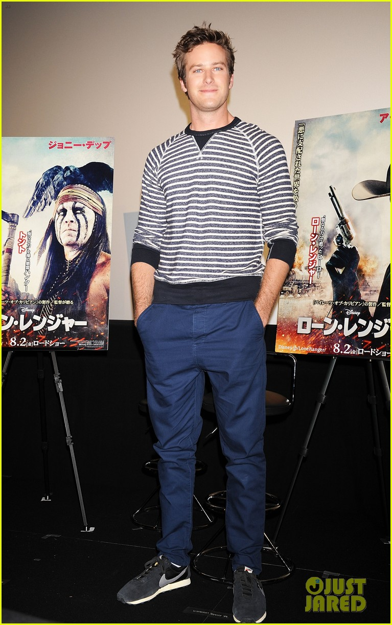 armie hammer lone ranger japan press conference 032869443