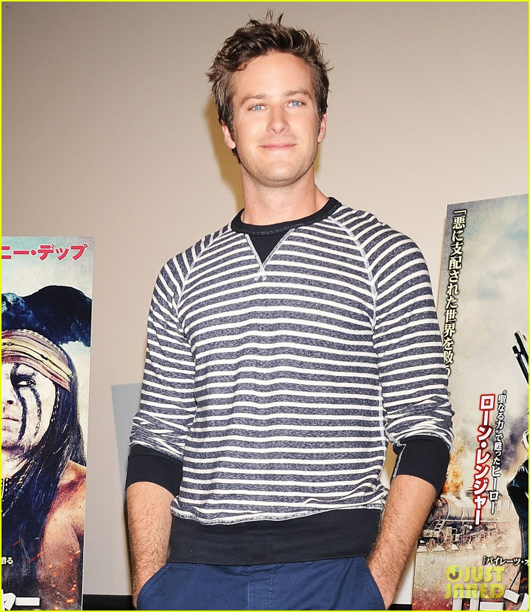 armie hammer lone ranger japan press conference 082869448