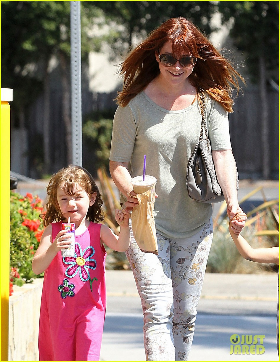 alyson hannigan grabs coffee after keevas first birthday 062880017